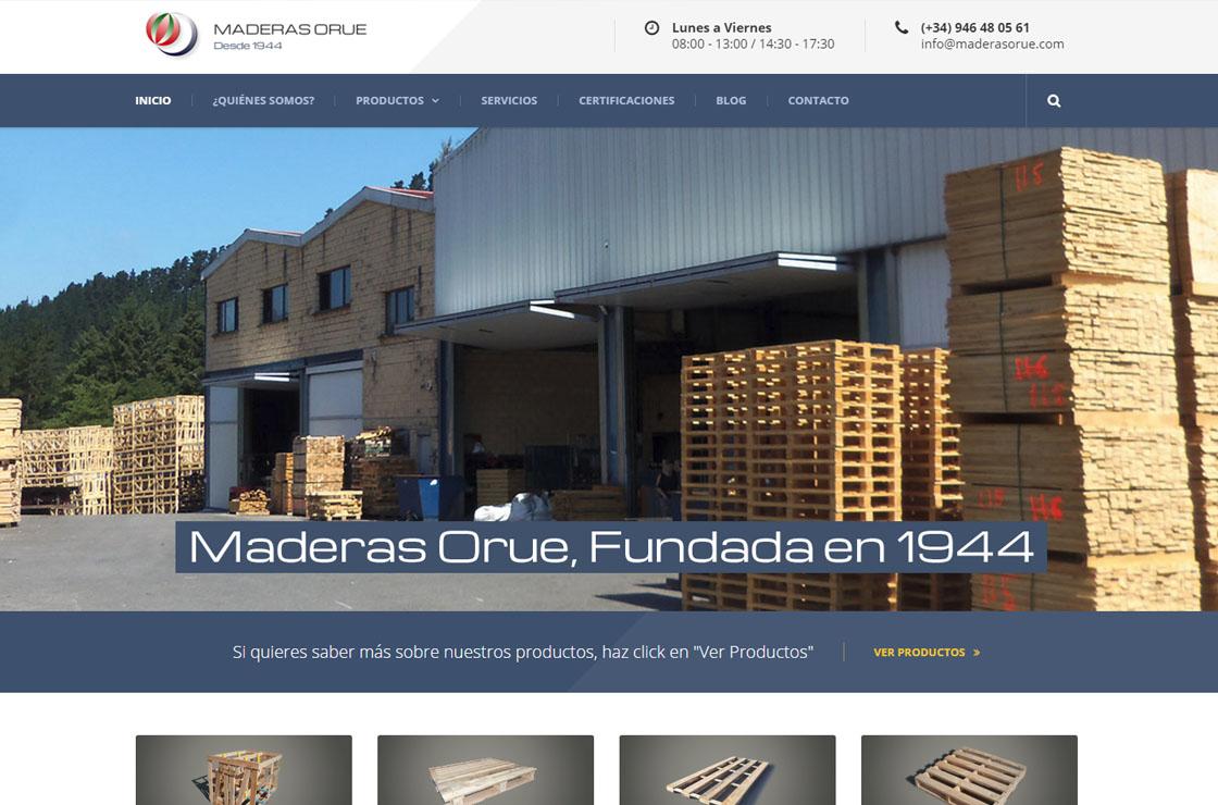 Maderas Orue