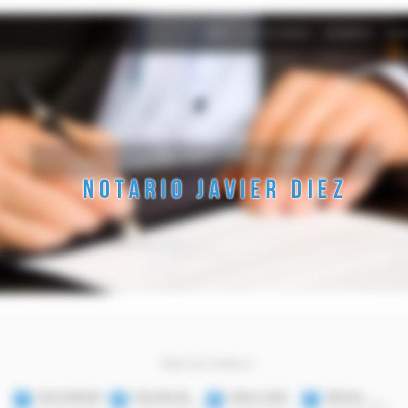 NOTARIO JAVIER DIEZ